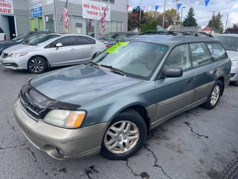 2002 Subaru Outback for sale at American Dream Motors in Everett WA