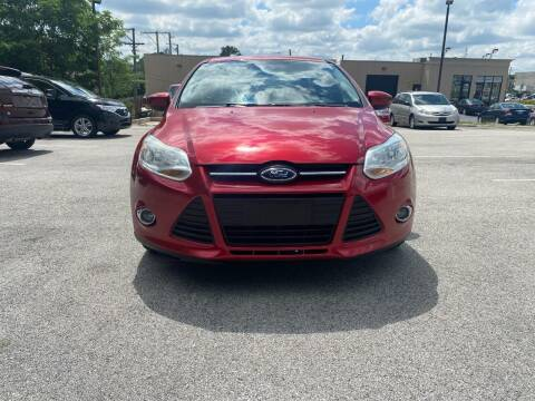 2012 Ford Focus for sale at Platinum Cars Exchange in Downers Grove IL