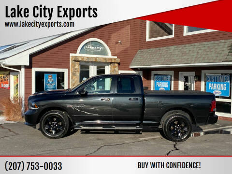 2016 RAM Ram Pickup 1500 for sale at Lake City Exports in Auburn ME