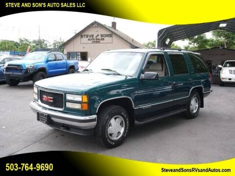 1997 GMC Yukon for sale at Steve & Sons Auto Sales in Happy Valley OR