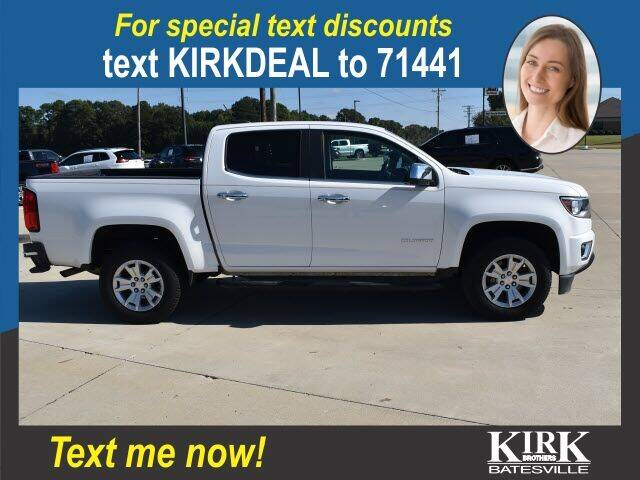 2017 Chevrolet Colorado for sale at Kirk Brothers Batesville in Batesville MS