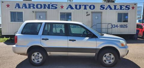 2005 Honda Pilot for sale at Aaron's Auto Sales in Corpus Christi TX