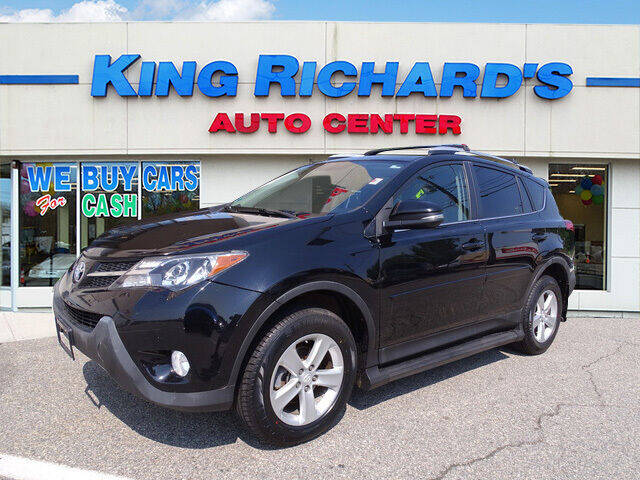 2014 Toyota RAV4 for sale at KING RICHARDS AUTO CENTER in East Providence RI