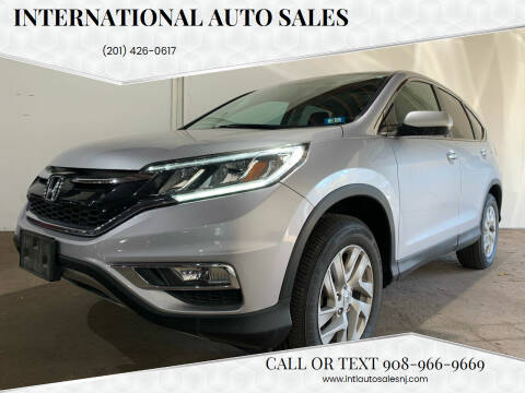 2016 Honda CR-V for sale at International Auto Sales in Hasbrouck Heights NJ