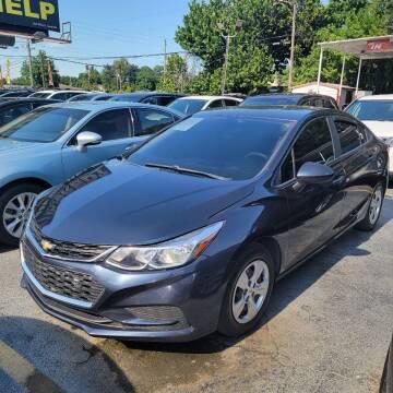 2016 Chevrolet Cruze for sale at America Auto Wholesale Inc in Miami FL