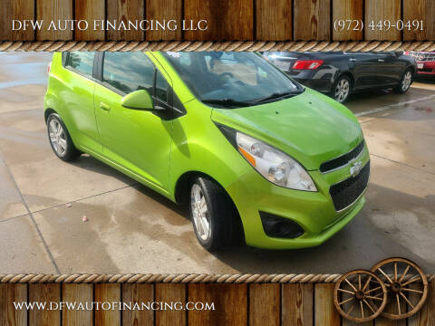 2014 Chevrolet Spark for sale at DFW AUTO FINANCING LLC in Dallas TX