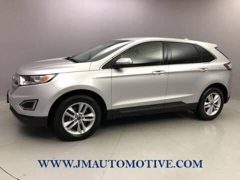2015 Ford Edge for sale at J & M Automotive in Naugatuck CT