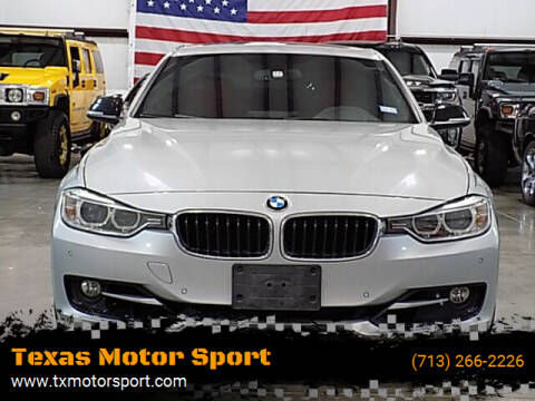2013 BMW 3 Series for sale at Texas Motor Sport in Houston TX