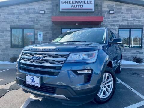 2018 Ford Explorer for sale at GREENVILLE AUTO in Greenville WI