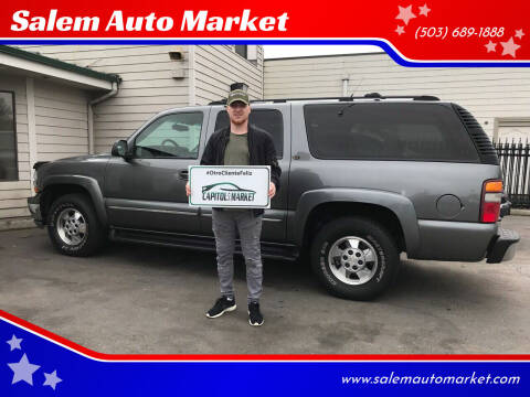 2001 Chevrolet Suburban for sale at Salem Auto Market in Salem OR
