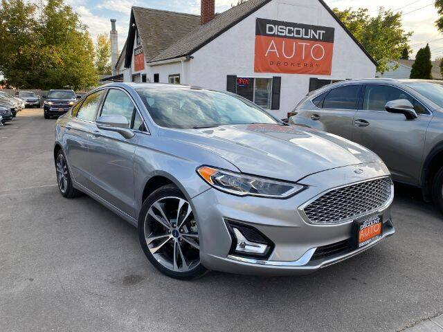 2020 Ford Fusion for sale at Discount Auto Brokers Inc. in Lehi UT