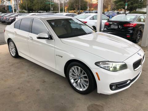 2014 BMW 5 Series for sale at Auto Smart Charlotte in Charlotte NC