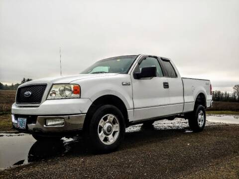 2004 Ford F-150 for sale at M AND S CAR SALES LLC in Independence OR