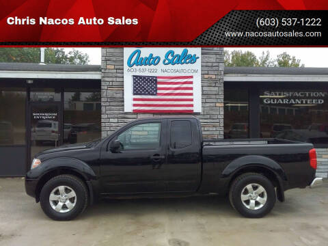 2012 Nissan Frontier for sale at Chris Nacos Auto Sales in Derry NH