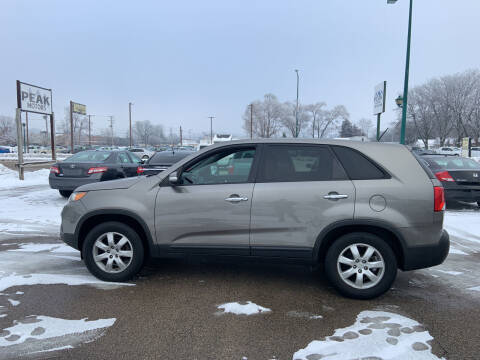 2012 Kia Sorento for sale at Peak Motors in Loves Park IL