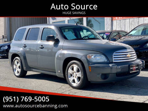 2008 Chevrolet HHR for sale at Auto Source in Banning CA