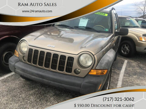 2005 Jeep Liberty for sale at Ram Auto Sales in Gettysburg PA