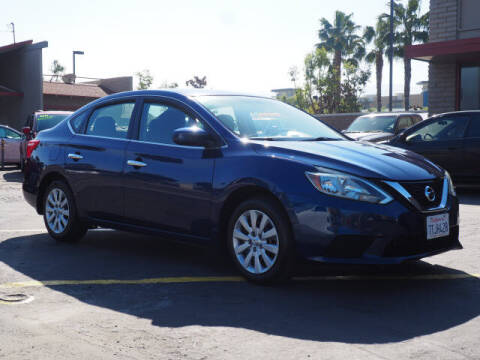 2016 Nissan Sentra for sale at Corona Auto Wholesale in Corona CA