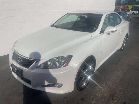 2010 Lexus IS 350C for sale at APX Auto Brokers in Edmonds WA