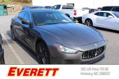 2015 Maserati Ghibli for sale at Everett Chevrolet Buick GMC in Hickory NC