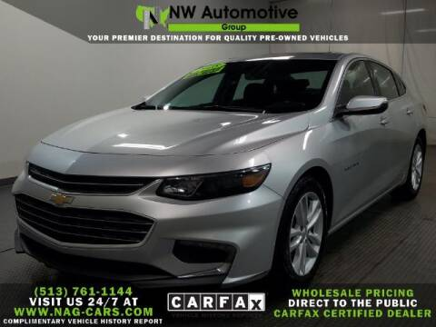 2018 Chevrolet Malibu for sale at NW Automotive Group in Cincinnati OH