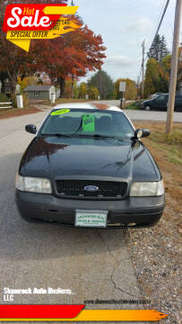 2009 Ford Crown Victoria for sale at Shamrock Auto Brokers, LLC in Belmont NH