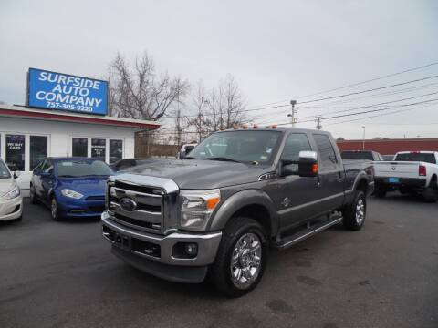 2014 Ford F-350 Super Duty for sale at Surfside Auto Company in Norfolk VA