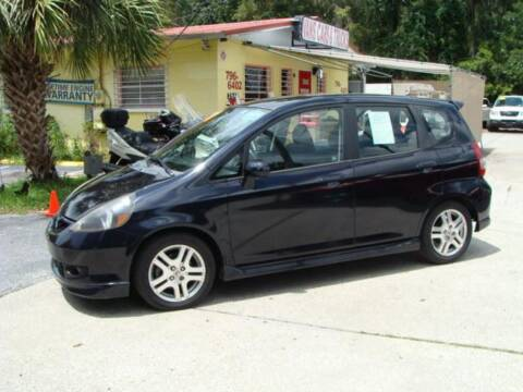 2008 Honda Fit for sale at VANS CARS AND TRUCKS in Brooksville FL