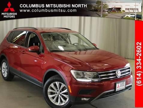 2018 Volkswagen Tiguan for sale at Auto Center of Columbus - Columbus Mitsubishi North in Columbus OH