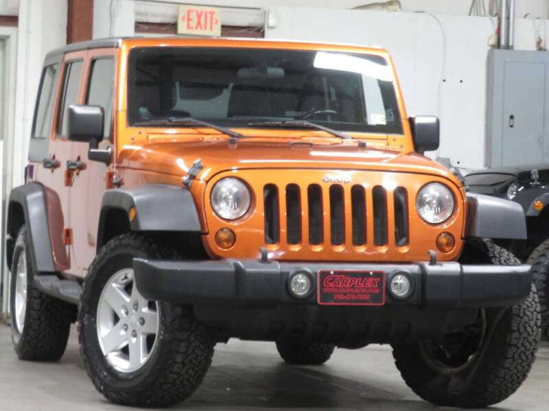 2011 Jeep Wrangler Unlimited for sale at CarPlex in Manassas VA