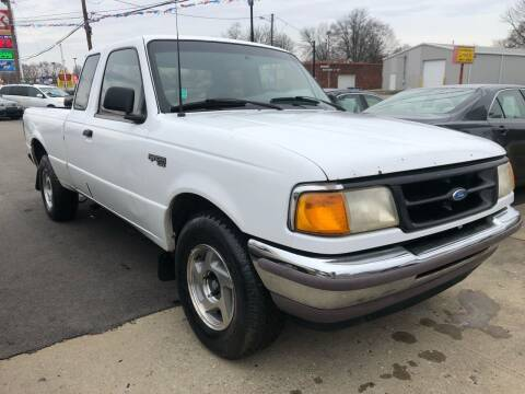 1996 Ford Ranger for sale at Wise Investments Auto Sales in Sellersburg IN