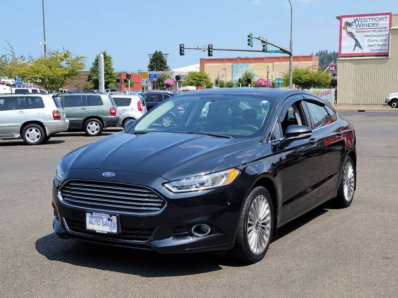 2014 Ford Fusion for sale at Aberdeen Auto Sales in Aberdeen WA