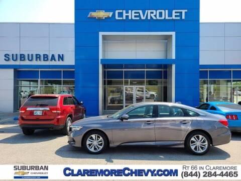 2020 Honda Accord for sale at Suburban Chevrolet in Claremore OK