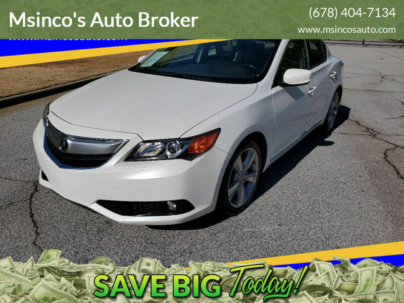 2015 Acura ILX for sale at Msinco's Auto Broker in Snellville GA