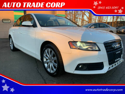 2010 Audi A4 for sale at AUTO TRADE CORP in Nanuet NY