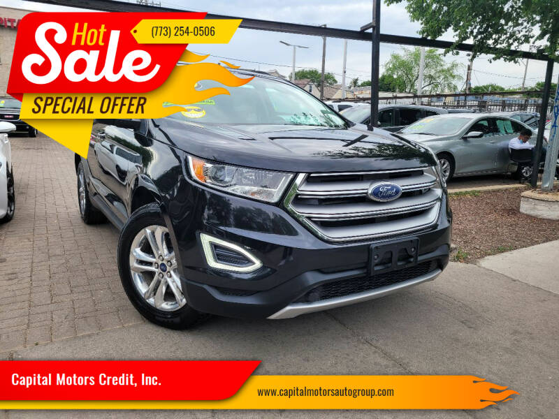 2015 Ford Edge for sale at Capital Motors Credit, Inc. in Chicago IL