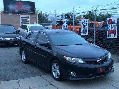 2012 Toyota Camry for sale at Top Gear Cars LLC in Lynn MA