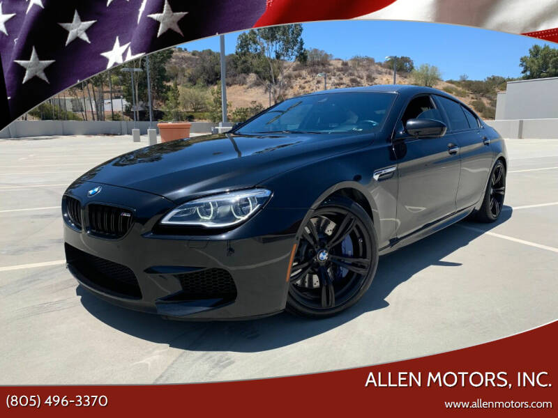 2019 BMW M6 for sale at Allen Motors, Inc. in Thousand Oaks CA