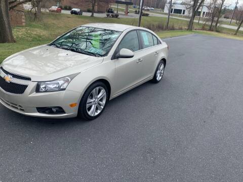 2013 Chevrolet Cruze for sale at Augusta Auto Sales in Waynesboro VA