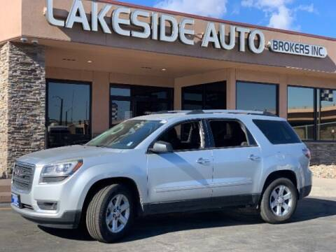 2013 GMC Acadia for sale at Lakeside Auto Brokers Inc. in Colorado Springs CO