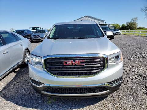 2018 GMC Acadia for sale at K & G Auto Sales Inc in Delta OH