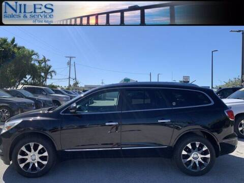 2017 Buick Enclave for sale at Niles Sales and Service in Key West FL