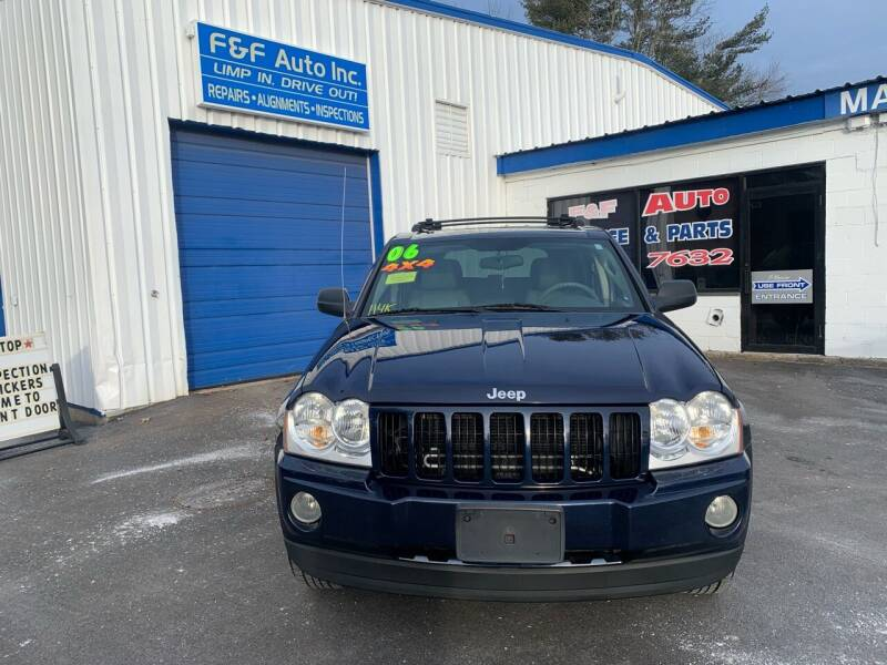 2006 Jeep Grand Cherokee for sale at F&F Auto Inc. in West Bridgewater MA