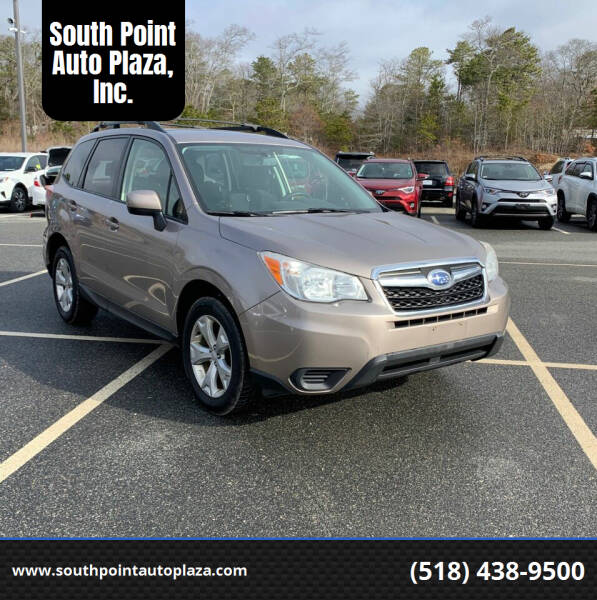 2014 Subaru Forester for sale at South Point Auto Plaza, Inc. in Albany NY