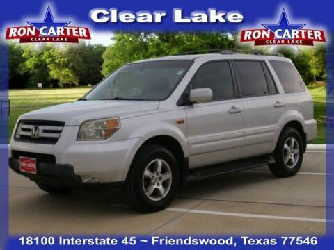 2006 Honda Pilot for sale at Ron Carter  Clear Lake Used Cars in Houston TX
