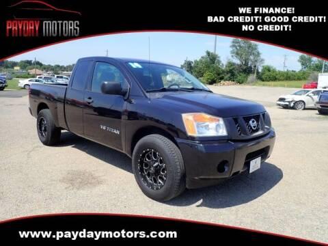 2014 Nissan Titan for sale at Payday Motors in Wichita KS