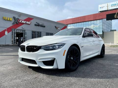 2018 BMW M3 for sale at Team X-TREME in Houston TX