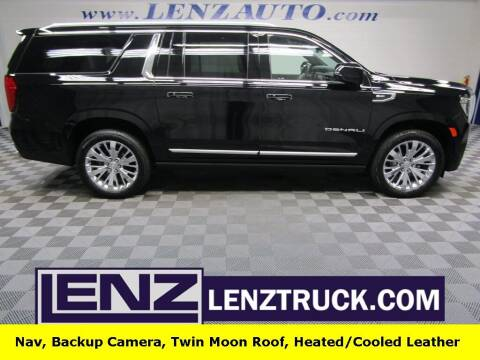 2021 GMC Yukon XL for sale at LENZ TRUCK CENTER in Fond Du Lac WI