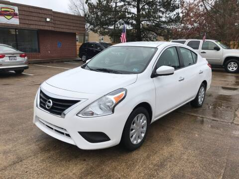 2018 Nissan Versa for sale at A-1 Motors in Virginia Beach VA