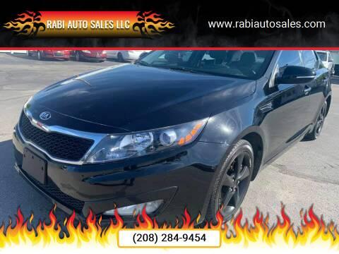 2013 Kia Optima for sale at RABI AUTO SALES LLC in Garden City ID